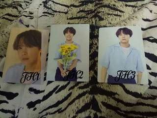 BTS Jhope LY Official Photocard
