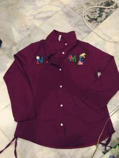 Maroon blouse (never used)