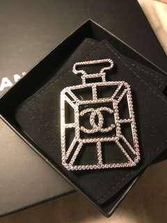 CHANEL perfume brooch