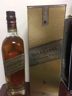 Jonnie Walker Gold Label, 750ml