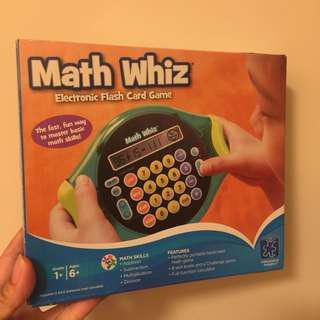 (預訂) 🇺🇸美國入口-數學題遊戲機