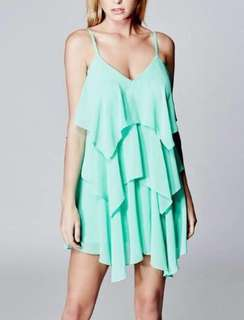 Marciano ruffle dress