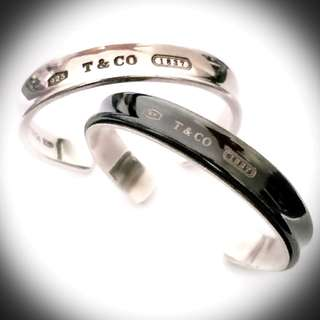 COMING SOON..... Authentic  TIFFANY & Co 1837 Bangle/Open Cuff For men