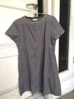 Jocomomola Grey Mini Dress