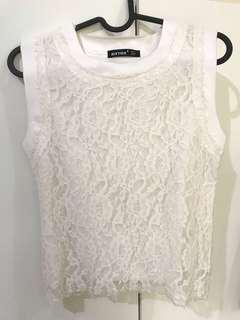 Zara lookalike lace top