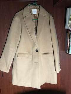 購自 日本 Lowrys farm 杏色 外套 中長 褸 cost jacket