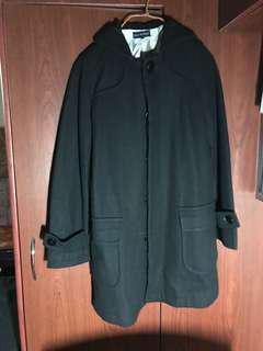 購自 日本 黑色 冬天 秋天 外套 中長 褸 coat jacket black