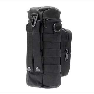 Tactical Water Bottle Holder, 600D Nylon 0.5-1L Volume