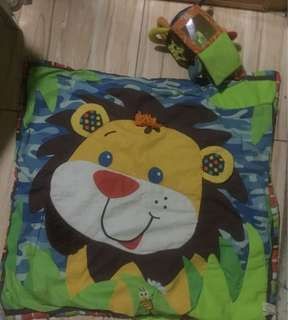 Lamaze Play Mat and toys