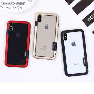 Bumper cover silicone iPhone Case all units iPhone with rope