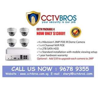 Hikvision cctv ip camera system