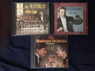 Mantovani popular classics CDs