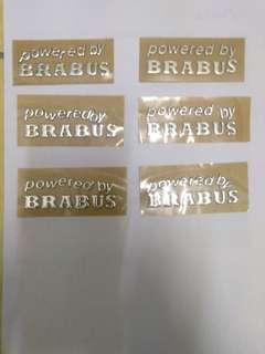 Wording Brabus (Powered by Brabus)