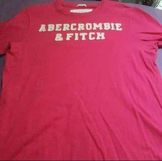 Authentic BN Abercrombie and Fitch Men Appliqué Tshirt
