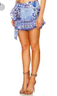 BNWT Camilla Guardian Of Secrets Pleat Detail Shorts with Slash Size small