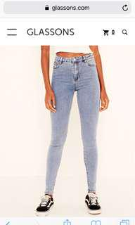 Glassons high waisted skinny jeans