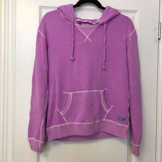 American Eagle Pink/Lilac Hoodie Sweater