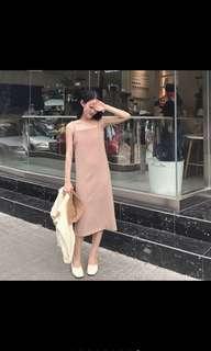 Simple korean style dress