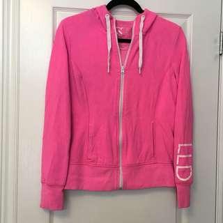 Aeropostale LLD Hot Pink Sweater, has thumb holes