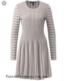 BCBG sweater dress - XS