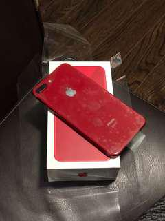 Red iPhone & plus limited edition BNIB