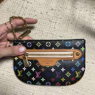 Louis vuitton multicolor coin purse