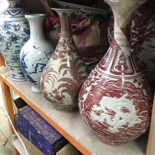 All Sorts Of Old Chinese Porcelain To Clear At A Very Low Price