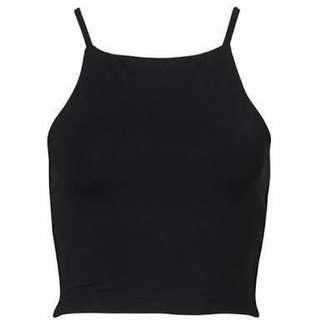 Kookai black crop top