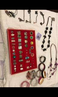 "Assorted ""GET ALL"" accessories"