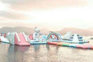 inflatable island 3k GC