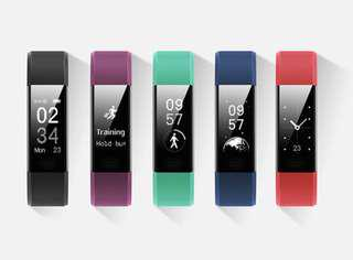 Health and Fitness Smartwatch Bracelet with Durable Strap and IP67 Water Resistance