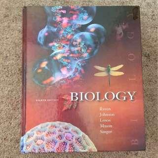 Biology (eighth edition) by Raven, Mason, Singer et al