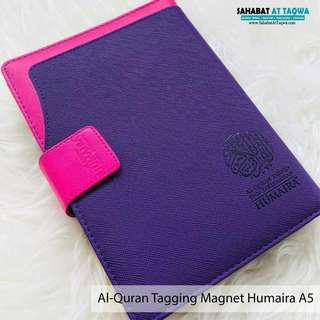 Al quran tagging humaira magnet (purple)