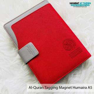 Al quran tagging humaira magnet a5 (merah)