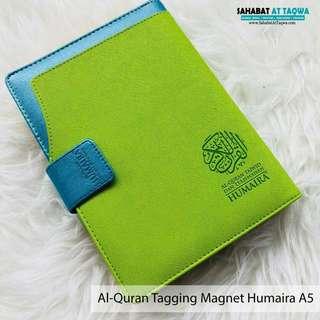 Al quran tagging humaira magnet a5 (hijau)