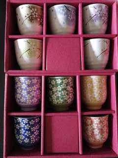 Japanese cup set