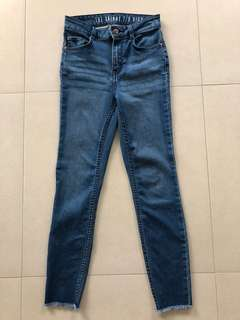 Cotton On Skinny High Rise 7/8 jeans