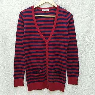 Forever 21 Stripes Cardigan