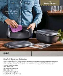 Tupperware UltraPro Rectangle Collection