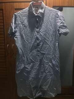 Bayo large denim dress
