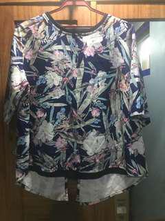 ForMe large floral blouse