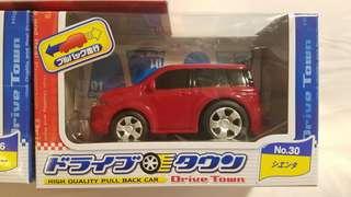 Toyota 豐田 Sienta Q版回力車 少有品
