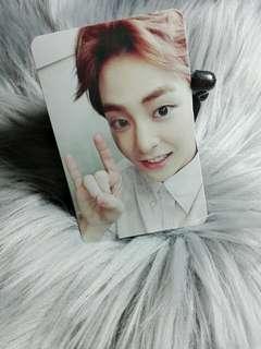 Xiumin Exact Monster Lucky One Official Photocard
