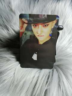 Tao Exodus Call Me Baby Official Photocard