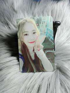 Jessica With Love J Official Photocard