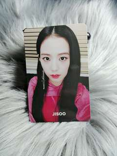 Blackpink Jisoo Square Up Official Photocard