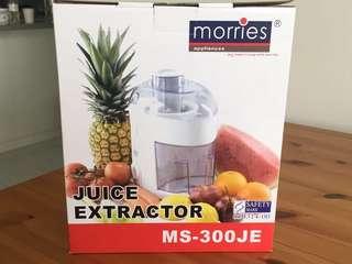 Morries juice extractor juicer