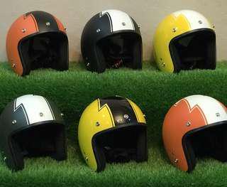 Helmet retro flash