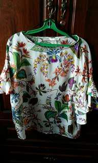 H&M floral top EU40