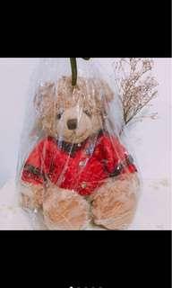 🚚 Harrods年度紀念泰迪熊2014聖誕跨年熊2015限定限量羊年熊